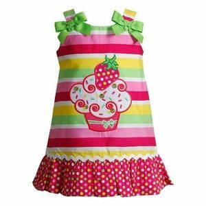 Youngland Cupcake Applique Dress size 12 months